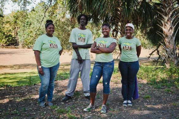 Farm Pix: Grow Dat Youth Interns
