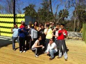 Join us for a group volunteer day on the bayou and in the fields.