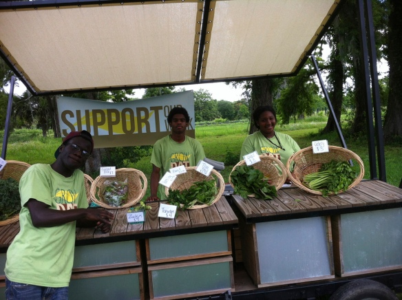 FARM STAND in action! Photo Credit Ariel Roland